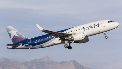 CC-BFV - Airbus A320-214 - LAN Airlines