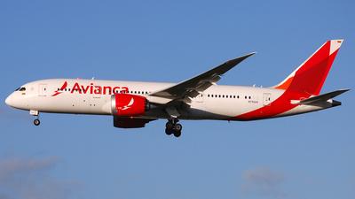 N792AV - Boeing 787-8 Dreamliner - Avianca
