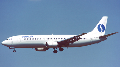 OO-VEJ - Boeing 737-405 - Sobelair