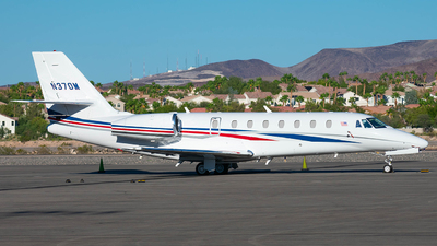 N370M - Cessna 680 Citation Sovereign - Private