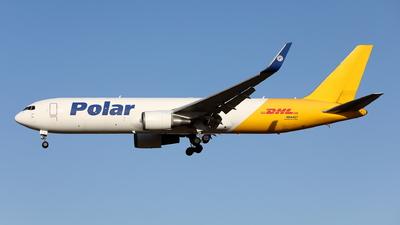 A picture of N644GT - Boeing 7673JHF(ER) - DHL - © kouyagi