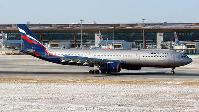 VQ-BMX - Airbus A330-343 - Aeroflot