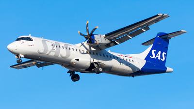 A picture of ESATC - ATR 72600 - SAS - © Jevgeni Ivanov