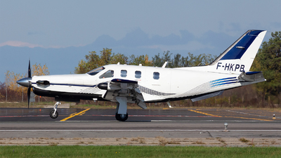 F-HKPB - Socata TBM-850 - Private