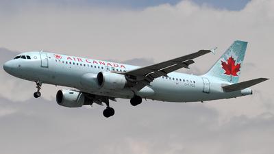 C-FZQS - Airbus A320-214 - Air Canada