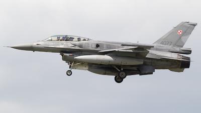 4077 - Lockheed Martin F-16D Fighting Falcon - Poland - Air Force