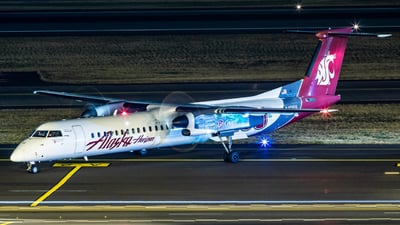 N401QX - Bombardier Dash 8-Q402 - Alaska Airlines (Horizon Air)