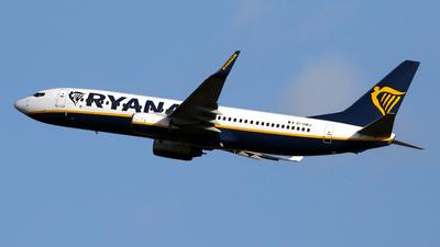 A picture of EIDWJ - Boeing 7378AS - Ryanair - © Javier Rodriguez - Amics de Son Sant Joan