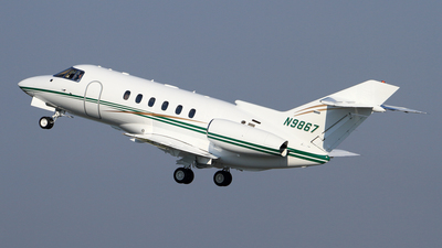 N9867 - Hawker Beechcraft 800XP - Private