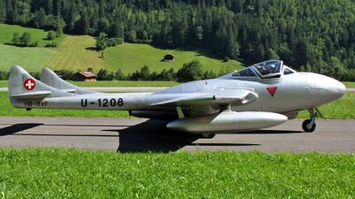 HB-RVF - De Havilland Vampire T.55 - Private