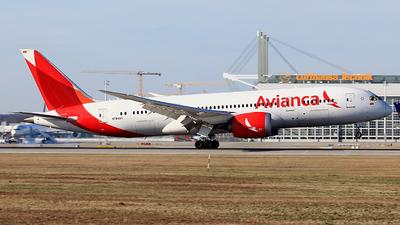 A picture of N784AV - Boeing 7878 Dreamliner - Avianca - © Heidi Wanninger