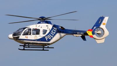 EC-IKX - Eurocopter EC 135P2 - Spain - National Police