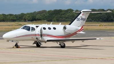 OE-FRM - Cessna 510 Citation Mustang - GlobeAir