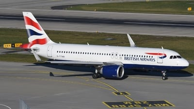 G-TTNB - Airbus A320-251N - British Airways