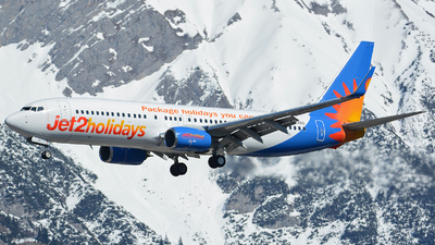 A picture of GJZBO - Boeing 7378MG - Jet2 - © Andreas Stoeckl