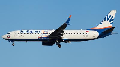 A picture of TCSEJ - Boeing 7378HC - SunExpress - © Alexander Schürmann