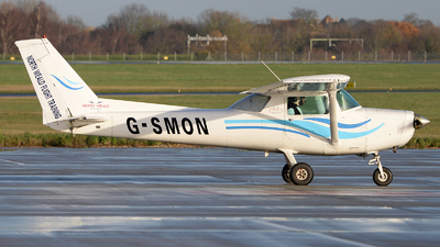 G-SMON - Cessna A152 Aerobat - North Weald Flight Training