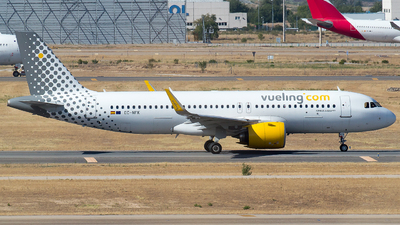A picture of ECNFK - Airbus A320271N - Vueling - © Mateo León