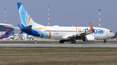 A picture of A6FEM - Boeing 7378KN - FlyDubai - © Loredana Cioclei