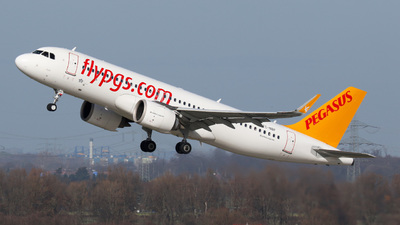 A picture of TCNBF - Airbus A320251N - Pegasus Airlines - © Jan-Eike Berger