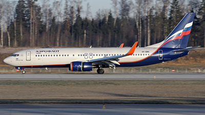 A picture of VPBMO - Boeing 7378LJ - Aeroflot - © Airyura