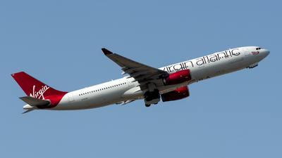 G-VLUV - Airbus A330-343 - Virgin Atlantic Airways