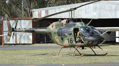 A picture of A17016 - Bell OH58A Kiowa -  - © Simon Coates