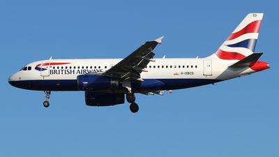 G-DBCD - Airbus A319-131 - British Airways