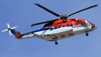 A picture of LNOQH - Sikorsky S92A - CHC Helikopter Service - © Witold Ozimek