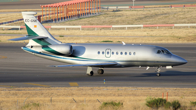 EC-GNK - Dassault Falcon 2000 - Gestair Private Jets