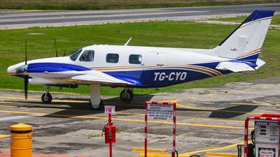 TG-CYO - Piper PA-31T Cheyenne II - Private