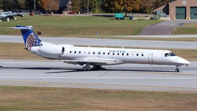 A picture of N15555 - Embraer ERJ145LR - United Airlines - © Guy Langlois