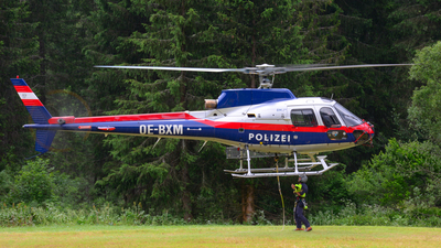 OE-BXM - Aérospatiale AS 350B1 Ecureuil - Austria - Ministry of Interior