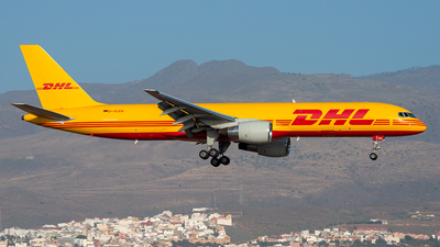 D-ALEN - Boeing 757-2Q8(PCF) - DHL (European Air Transport)