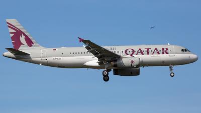 A7-AAG - Airbus A320-232 - Qatar Airways