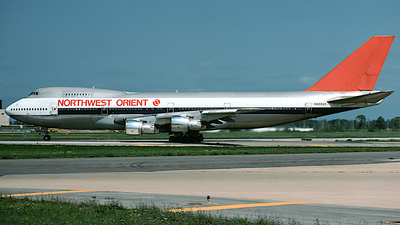N606US - Boeing 747-151 - Northwest Orient Airlines