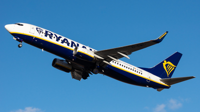 A picture of EIDWI - Boeing 7378AS - Ryanair - © Fryderyk Kastelnik/ Fred Aviation