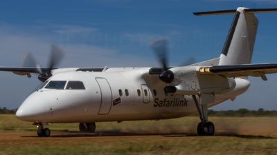 A picture of 5YSLD - De Havilland Canada Dash 8100 - Safarilink Aviation - © Hugh M