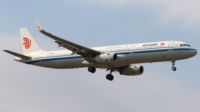 A picture of B1878 - Airbus A321232 - Air China - © Aircraft carrier FX