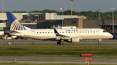 A picture of N87319 - Embraer E175LR - United Airlines - © DJ Reed - OPShots Photo Team