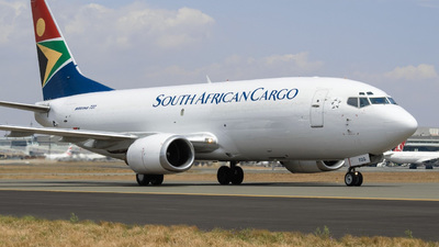 ZS-TGG - Boeing 737-341(SF) - South African Cargo