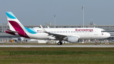 A picture of OEIEU - Airbus A320214 - Eurowings - © Michael Knüfer