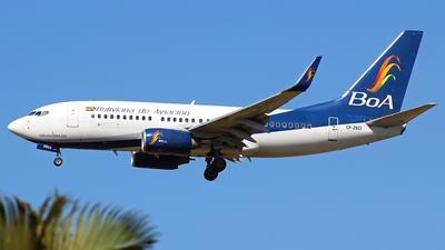 A picture of CP2923 - Boeing 7377Q8 - Boliviana de Aviacion - © RENAN FRANCISCO