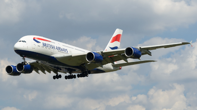 G-XLEK - Airbus A380-841 - British Airways