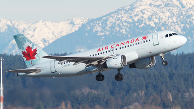 C-GBHM - Airbus A319-114 - Air Canada