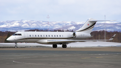 OE-IRT - Bombardier BD-700-1A10 Global 6000 - Private