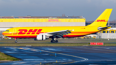 A picture of DAEAO - Airbus A300B4622R(F) - DHL - © Matteo Lamberts