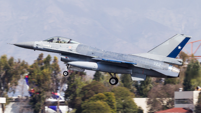 722 - General Dynamics F-16AM Fighting Falcon - Chile - Air Force