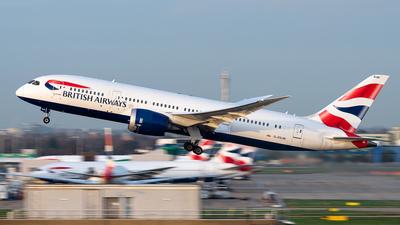 A picture of GZBJM - Boeing 7878 Dreamliner - British Airways - © Flying no nozomi