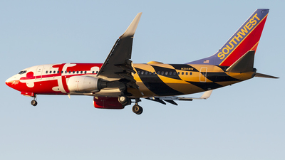 N214WN - Boeing 737-7H4 - Southwest Airlines